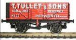 GM2410103  GM Collection Scale: 1:148, N Gauge *7 Plank Wagon T Tullet & Sons